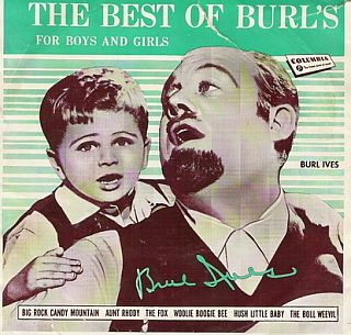 man on the flying trapeze, burl ives, best of burl's for boys and girls