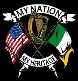 irish american heritage, irish flag, american flag