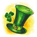 same old shillelagh,irish hat,irish folk music