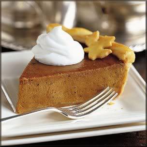 traditional thanksgiving menu, thanksgiving pumpkin pie